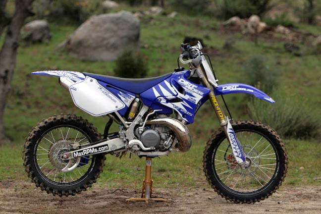 YZ 285 Big Bore - Max Power RPMs